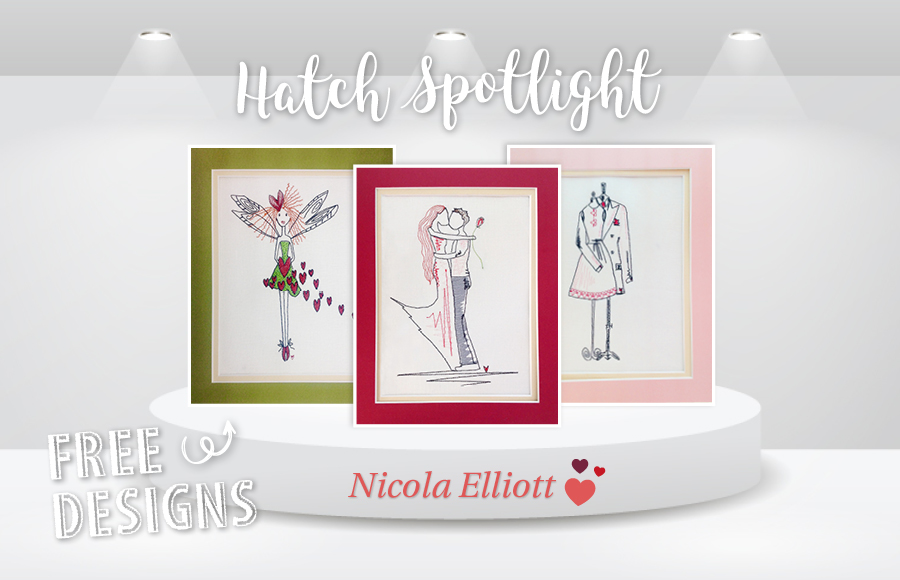 Stitching Sweet Valentines Pictures With Nicola Elliott Free
