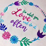 The Perfect Mother's Day Gift - FREE Embroidery Design