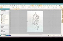 Digitizing the Seahorse - Part 1 - Inserting Your Artwork