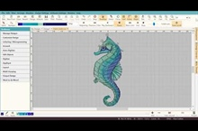 Digitizing the Seahorse - Part 5 - Stitch Player