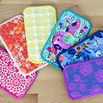 Sunglasses Case - FREE ITH Project by Caroline Critchfield