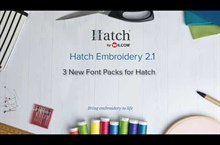 Hatch 2.1 – 3 New Add-on Font Packs