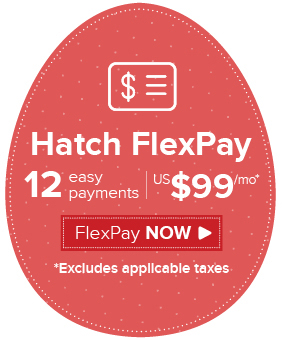 Hatch Embroidery payment plan