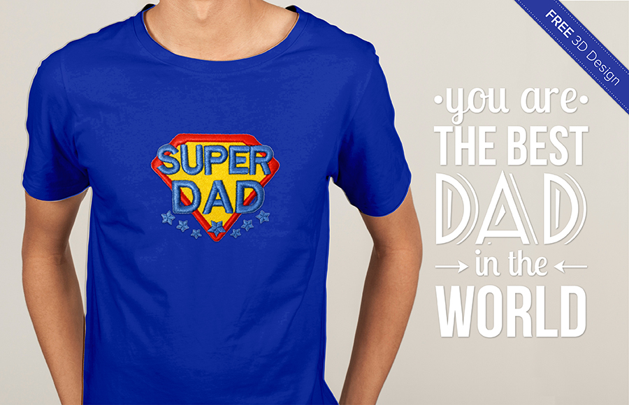Free Father's Day design