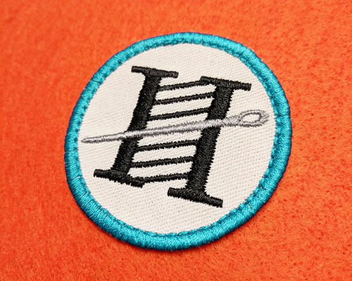 hatch patch embroidery design