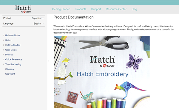 Hatch Embroidery Product Documentation