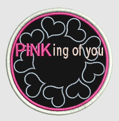 Pinking Of You Free Embroidery Design Video