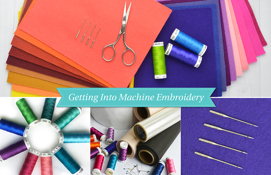 Beginners guide to machine embroidery