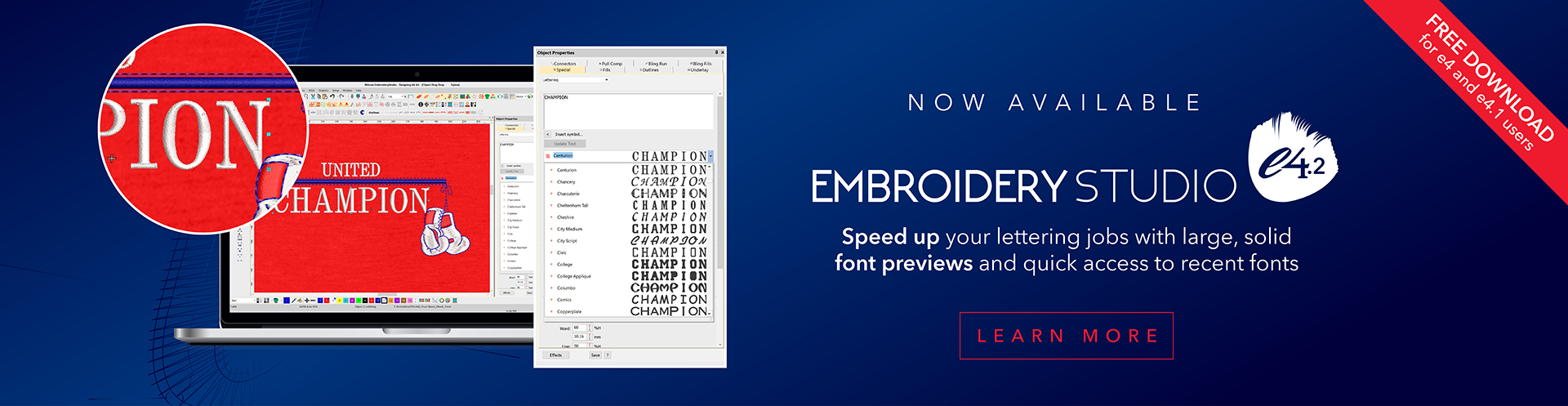 Embroidery Software Wilcom | Embroidery & apparel decoration