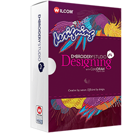 Wilcom EmbroideryStudio e4 Designing. Embroidery software