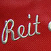 Quality embroidery lettering