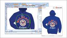 Embroidery customer approvals and production