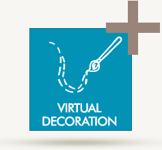Virtual decoration